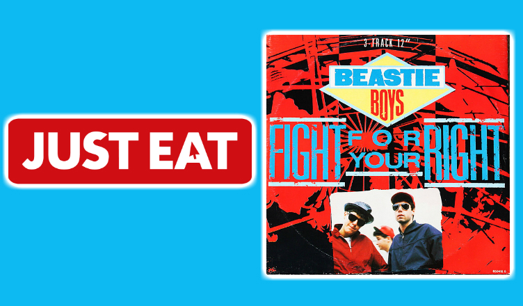 Just Eat Vs Beastie Boys Fight For Your Right